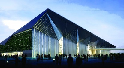 The Expo Theme Pavilion - Shanghai A+, CLASIC, FORTE Constructii comerciale si industriale