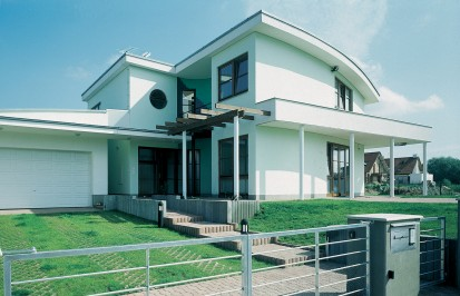 Casa realizata cu produse YTONG A+, CLASIC, FORTE Constructii rezidentiale