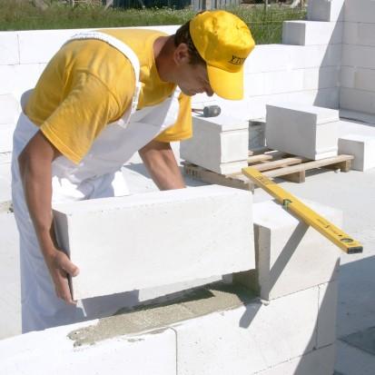 Realizarea zidurilor cu produse YTONG A+, CLASIC, FORTE Sistem constructiv - Punerea in opera