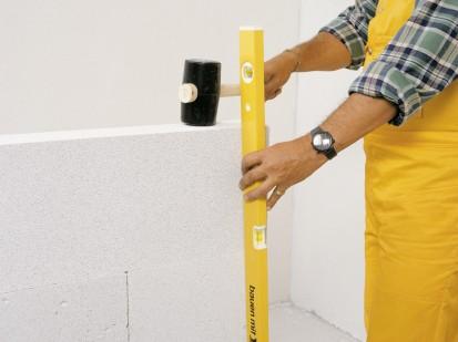 Realizarea peretilor despartitori  CLASIC, DESIGN, FORTE, INTERIO Blocuri pentru pereti despartitori