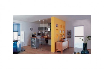 Exemplu de perete despartitor CLASIC, DESIGN, FORTE, INTERIO Blocuri pentru pereti despartitori