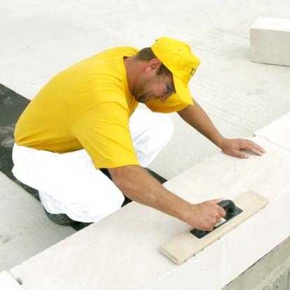 Realizarea zidariei exterioare cu blocuri YTONG A+, CLASIC, FORTE Blocuri pentru zidarie exterioara