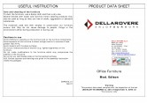 Mobilier receptii DELLAROVERE