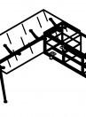 Birouri cu dulap, model 1