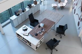 Birouri executive HANSEN ofera o gama variata de birouri executive marca DELLA VALENTINA OFFICE.