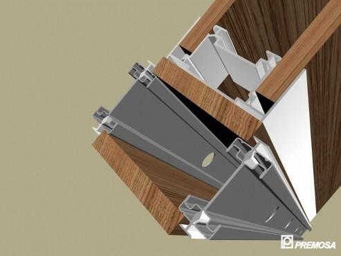Pereti despartitori modulari demontabili - Detalii 3D rost 10 mm PREMO - Poza 1