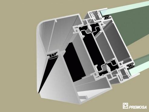 Pereti despartitori modulari demontabili - Detalii 3D rost 10 mm PREMO - Poza 2