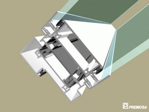 Pereti despartitori modulari demontabili - Detalii 3D rost 10 mm PREMO - Poza 4