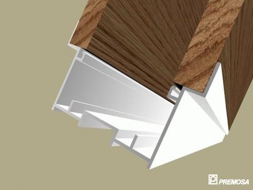 Pereti despartitori modulari demontabili - Detalii 3D rost 10 mm PREMO - Poza 6
