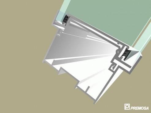 Pereti despartitori modulari demontabili - Detalii 3D rost 10 mm PREMO - Poza 14