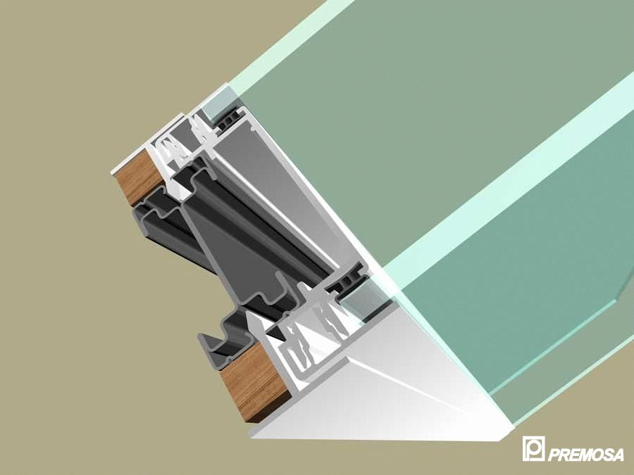 Pereti despartitori modulari demontabili - Detalii 3D rost 10 mm PREMO - Poza 15