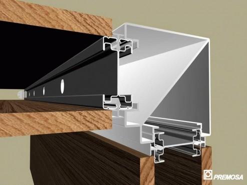 Pereti despartitori modulari demontabili - Detalii 3D rost 10 mm PREMO - Poza 18