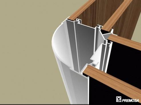 Pereti despartitori modulari demontabili - Detalii 3D rost 10 mm PREMO - Poza 19