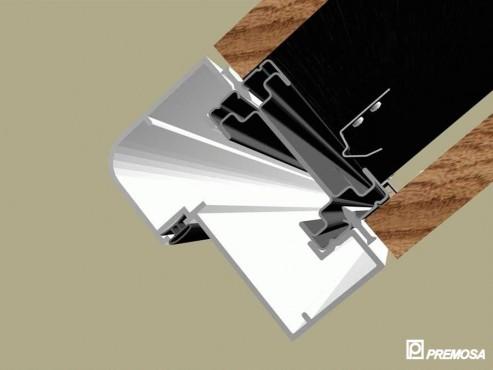 Pereti despartitori modulari demontabili - Detalii 3D rost 3 mm PREMO - Poza 3