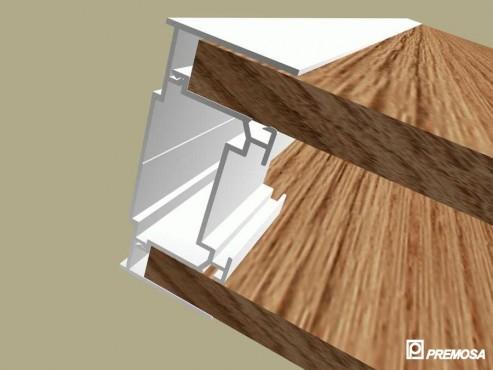 Pereti despartitori modulari demontabili - Detalii 3D rost 3 mm PREMO - Poza 4