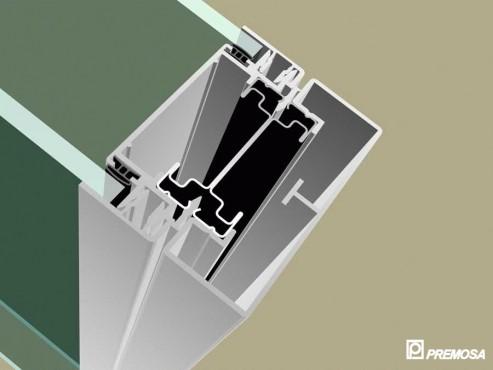 Pereti despartitori modulari demontabili - Detalii 3D rost 3 mm PREMO - Poza 6