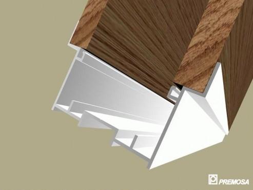 Pereti despartitori modulari demontabili - Detalii 3D rost 3 mm PREMO - Poza 7