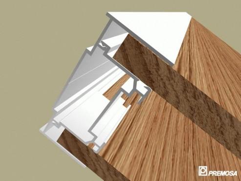 Pereti despartitori modulari demontabili - Detalii 3D rost 3 mm PREMO - Poza 18