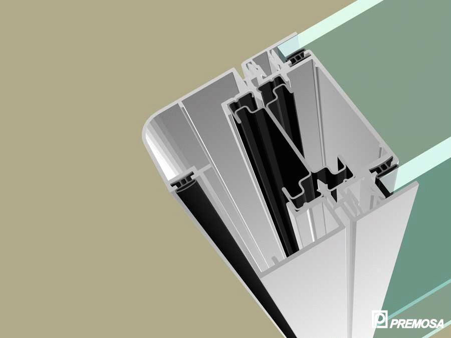 Pereti despartitori modulari demontabili - Detalii 3D rost 3 mm PREMO - Poza 20