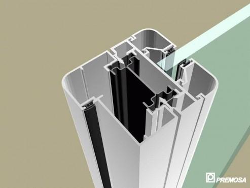 Pereti despartitori modulari demontabili - MV - Detalii 3D PREMO - Poza 1
