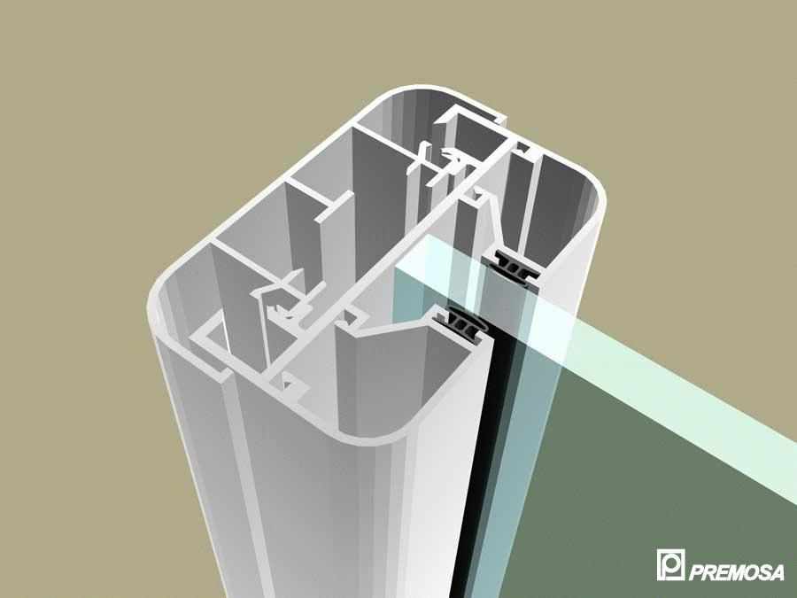Pereti despartitori modulari demontabili - MV - Detalii 3D PREMO - Poza 2