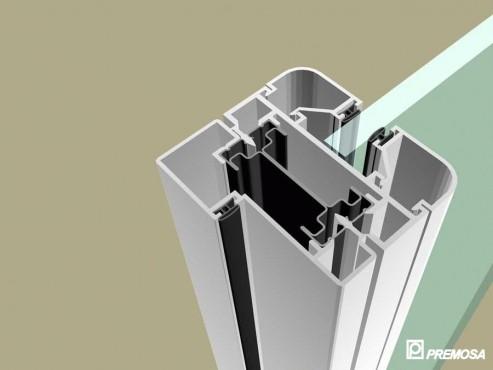Pereti despartitori modulari demontabili - MV - Detalii 3D PREMO - Poza 3