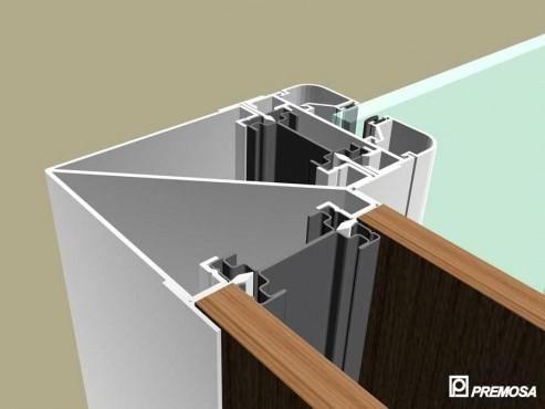Pereti despartitori modulari demontabili - MV - Detalii 3D PREMO - Poza 4