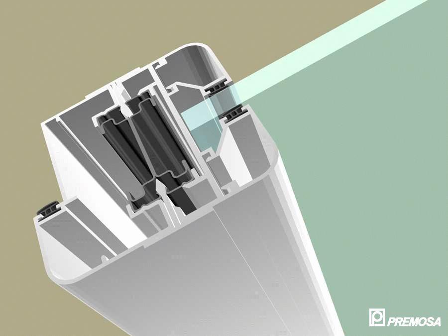 Pereti despartitori modulari demontabili - MV - Detalii 3D PREMO - Poza 5