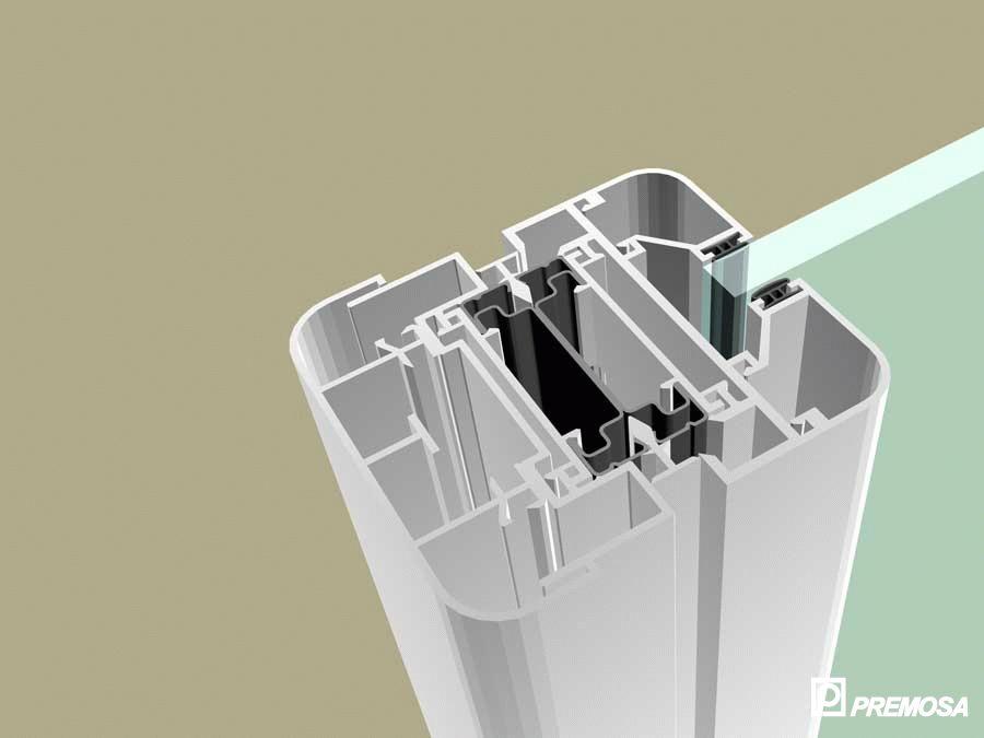 Pereti despartitori modulari demontabili - MV - Detalii 3D PREMO - Poza 6