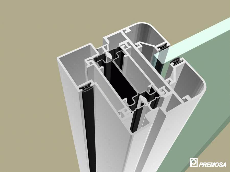 Pereti despartitori modulari demontabili - MV - Detalii 3D PREMO - Poza 7