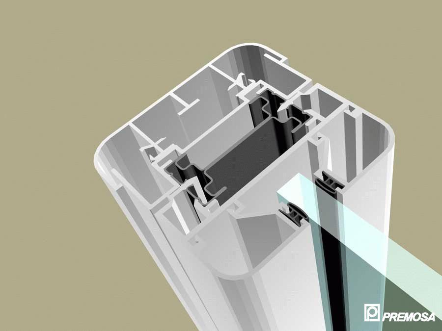 Pereti despartitori modulari demontabili - MV - Detalii 3D PREMO - Poza 8
