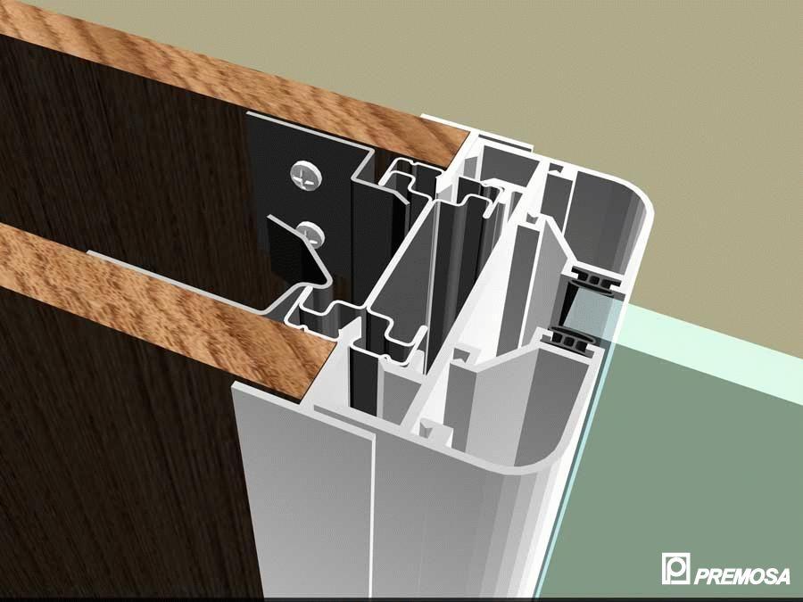 Pereti despartitori modulari demontabili - MV - Detalii 3D PREMO - Poza 9