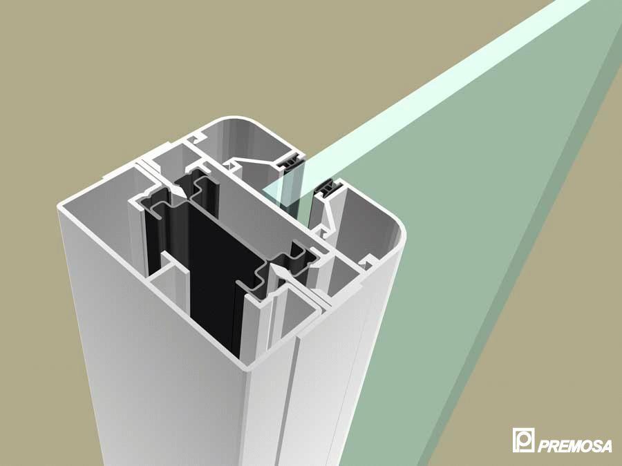 Pereti despartitori modulari demontabili - MV - Detalii 3D PREMO - Poza 10