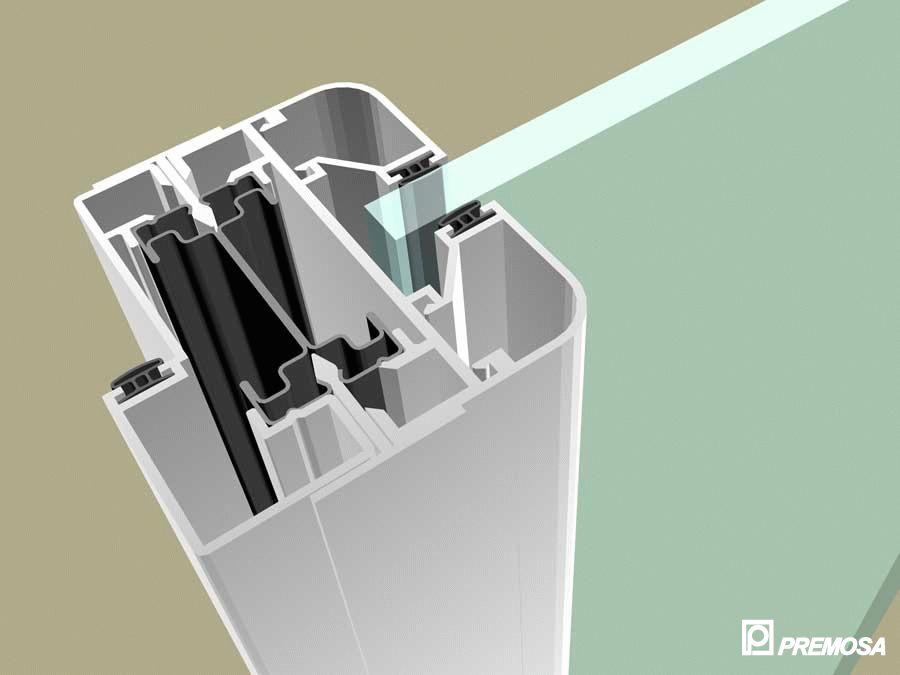 Pereti despartitori modulari demontabili - MV - Detalii 3D PREMO - Poza 12