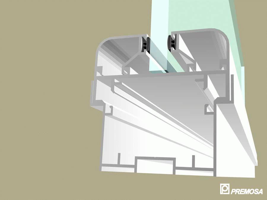 Pereti despartitori modulari demontabili - MV - Detalii 3D PREMO - Poza 13