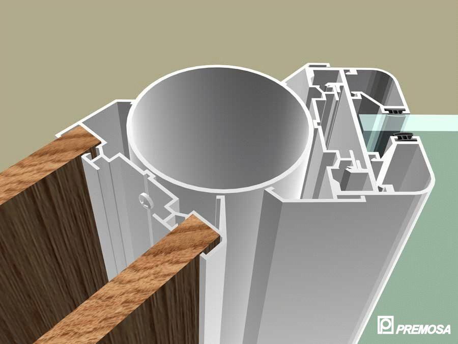 Pereti despartitori modulari demontabili - MV - Detalii 3D PREMO - Poza 15