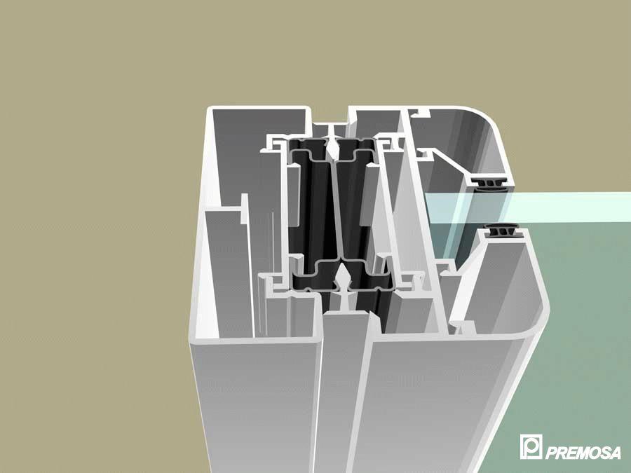 Pereti despartitori modulari demontabili - MV - Detalii 3D PREMO - Poza 19