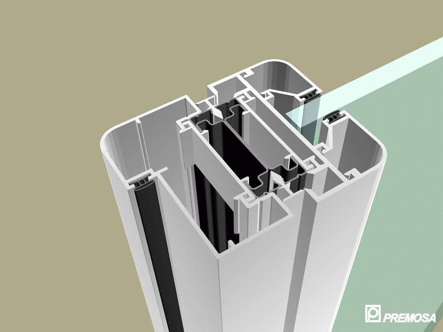 Pereti despartitori modulari demontabili - MV - Detalii 3D PREMO - Poza 20