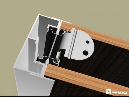 Pereti despartitori modulari demontabili - T Detalii 3D PREMO - Poza 1
