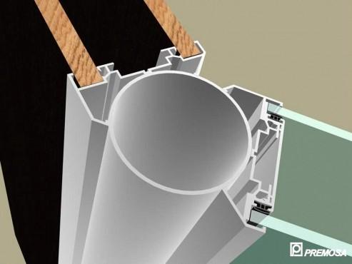 Pereti despartitori modulari demontabili - T Detalii 3D PREMO - Poza 2