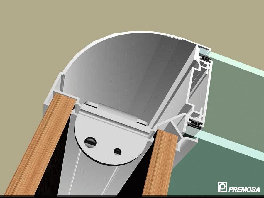 Pereti despartitori modulari demontabili - T Detalii 3D PREMO - Poza 4