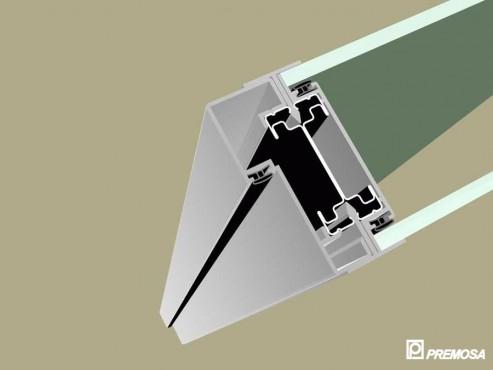 Pereti despartitori modulari demontabili - T Detalii 3D PREMO - Poza 5