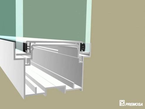 Pereti despartitori modulari demontabili - T Detalii 3D PREMO - Poza 6