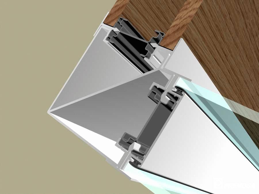 Pereti despartitori modulari demontabili - T Detalii 3D PREMO - Poza 8