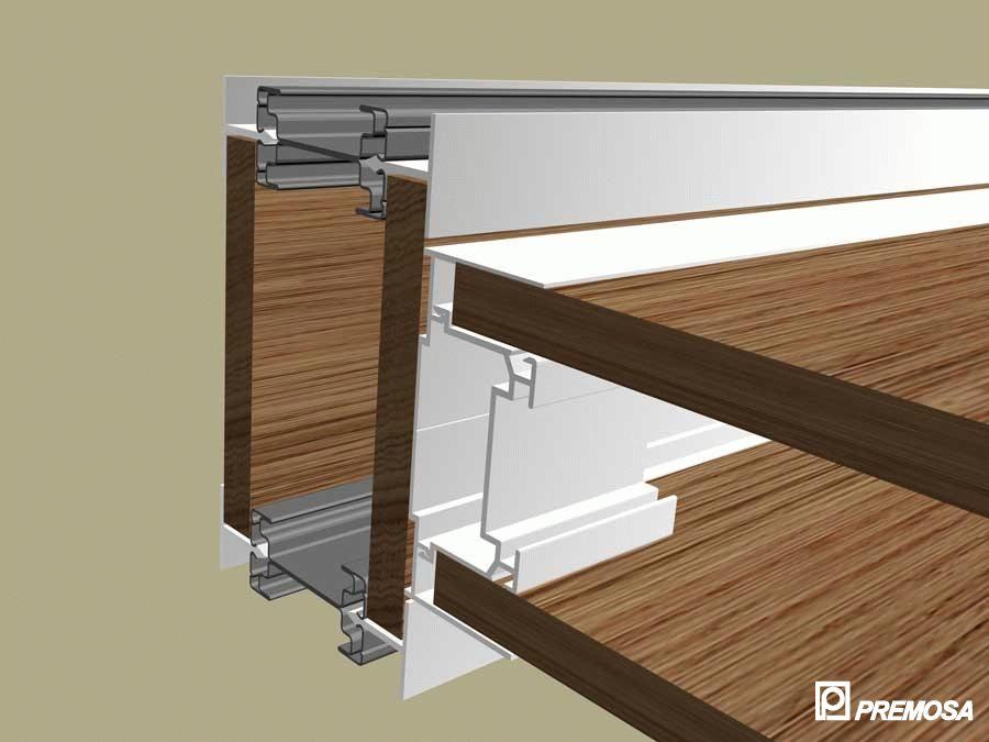 Pereti despartitori modulari demontabili - T Detalii 3D PREMO - Poza 11