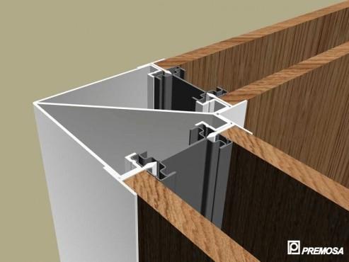 Pereti despartitori modulari demontabili - T Detalii 3D PREMO - Poza 12