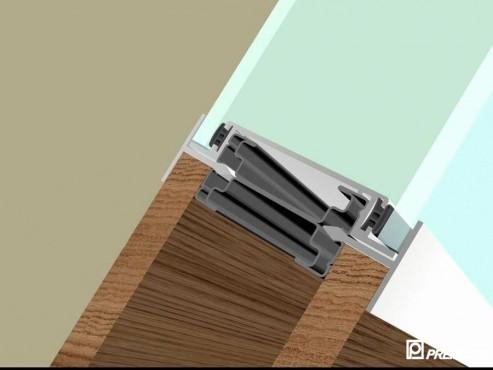 Pereti despartitori modulari demontabili - T Detalii 3D PREMO - Poza 14