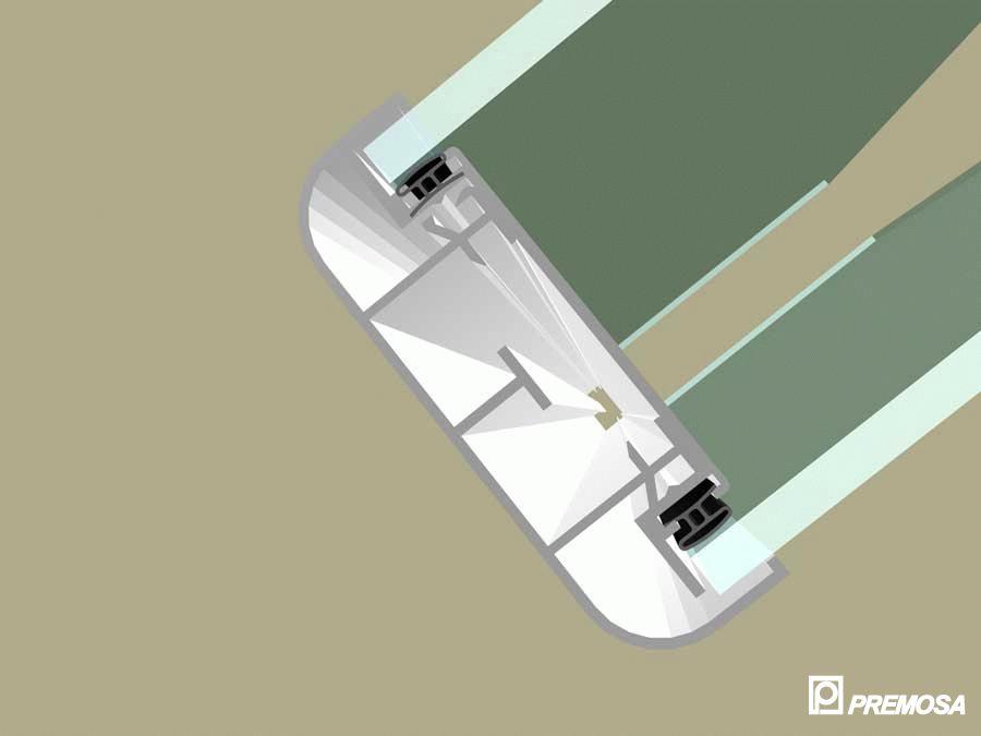 Pereti despartitori modulari demontabili - T Detalii 3D PREMO - Poza 15