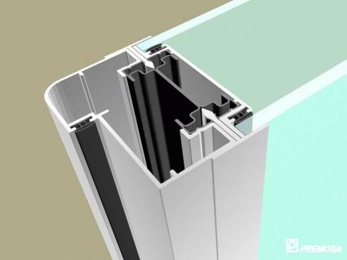 Pereti despartitori modulari demontabili - T Detalii 3D PREMO - Poza 17