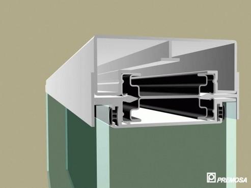 Pereti despartitori modulari demontabili - T Detalii 3D PREMO - Poza 21